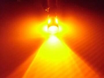12V24V兼用無極性/BA9s G14/黄色 オレンジ系アンバー/6連LED/2個