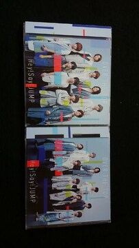 Hey!Say!JUMP シングル OVER THE TOP 初回限定盤DVD 2枚セット