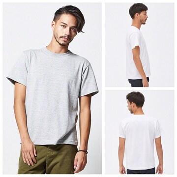 ユナイテッド【新品】5.6オンス ハイクオリティTシャツ 杢グレー
