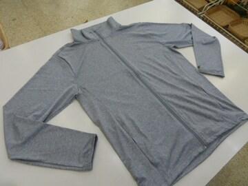 く(M薄灰)オーシャンパシフィック★フルジップ長袖ジャケット 517482 薄手
