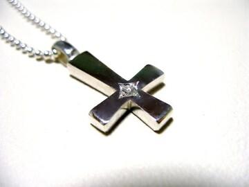 a phantom『一つ星ダイヤプラチナ逆十字クロス』ハンドメイド