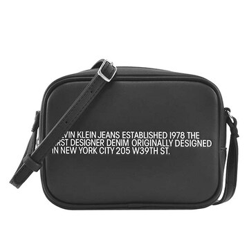 ◆新品本物◆カルバンクラインジーンズ ショルダーバック(BK)『K60K606857』◆