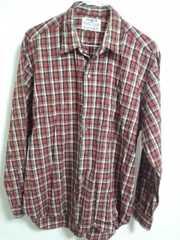 DEZERT 赤チェックシャツ  日本製