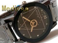 【送料無料】新品 2018 新作 Medissa 歯車の可愛い腕時計