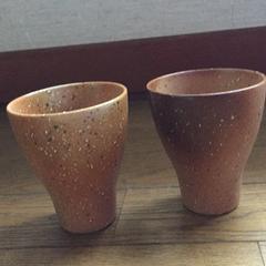 たち吉「灰被り風ペアフリーカップ」トヨタカローラ店オリジナル