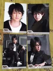 送込関ジャニ∞横山裕2008年ソロコンサート会場限定生写真4枚
