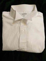 G CROSS★ウィングカラーフォーマルシャツ★4Lサイズ★白