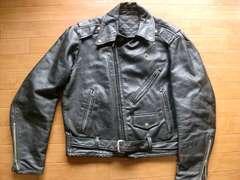 ヴィンテージ 70年代 レザー ライダースジャケット L