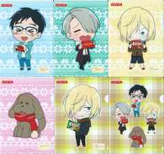 Fロッテ ユーリ!!! on ICE A5クリアファイル 6種セット
