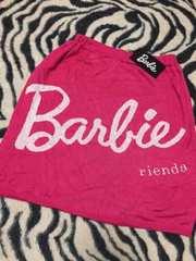 NEW*Barbie×rienda*ロゴニットスカート*S