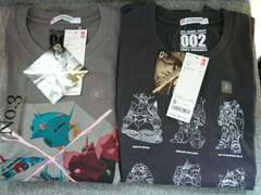 Tシャツ「機動戦士ガンダム2枚セット」(G)