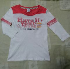 即決/送込み/七分袖Tシャツ