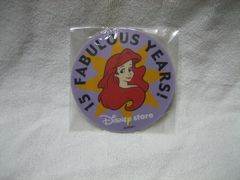 アリエル コースター ディズニーストア 15th FABULOUS YEARS!