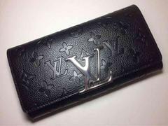 Louis Vuitton アンプラント デカロゴ 長財布 二つ折り