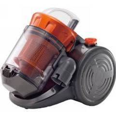 送料無料 新品 サイクロン掃除機 クリーナー オレンジ