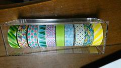 マスキングテープ10点黄色緑ブルーラッピング包装文具