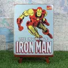 新品【ブリキ看板】Iron Man/アイアンマン アメリカンヒーロー