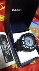 カシオプロトレックPRW-2500 タフソーラー電波腕時計2層液晶ディスプレイ