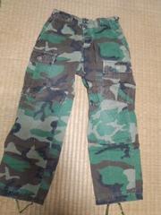 米軍 迷彩パンツ XS ジュニア向き