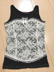 ◆ 超美品 ◆ RONI ◆ 黒 ノースリーブ 洋服 ロニィ