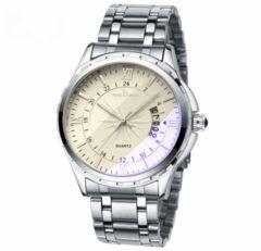 メンズ時計トップブランドの高級男性の腕時計 ホワイト