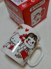 キティ×ペコちゃん☆マグカップ