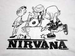 SNOOPY & Nirvana 選べる4サイズ S M L XL 送込