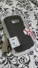 ドコモ(Galaxy S6 Edge★SC-04G)新品スマホケース♪ブラック♪