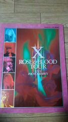 X(エックス/X JAPAN)「ROSE&BLOOD TOUR LIVE写真集」YOSHIKI/hide