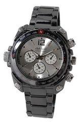 【送料無料】club face black メンズメタル腕時計☆CF-1060SV