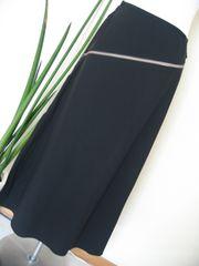 ヒロココシノ/HIROKO KOSHINO ラップ風スカート 黒40