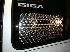 NEWギガ 320 フォワード 安全窓 ウロコ レトロ デコトラ 鱗