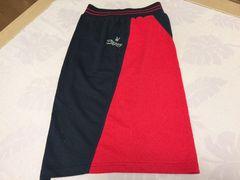 新品未使用PLAY BOYプレイボーイ赤黒バイカラースリットスカート