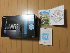 [動作確認済]ドライブユニット交換済Wii本体&マリオパーティ8&レンズクリーナーセット