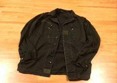 80s  フレンチアーミー F2ジャケット  ンテージ ブラック