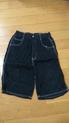 150�p黒の短パン��1261
