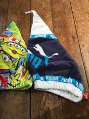 スイミングキャップ タオルキャップ タオル帽子 2枚