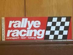 rallyeracing ステッカー