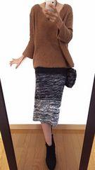 最終出品【美品】alcali/アルカリ◆定価17280円◆アルパカ◆ドルマンニット