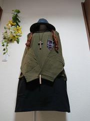 ★新品タグ10L★切り替え★裏起毛チュニ