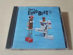 CD「ザッツ・ユーロビートVol.19 THAT'S EUROBEAT VOL.19」●