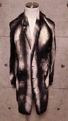 新品KMRIIケムリ Crepe Linen Discharge coat 2