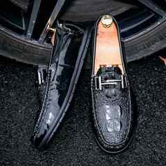メンズビジネスシューズスリッポン フォーマル 革靴24.5~27cm
