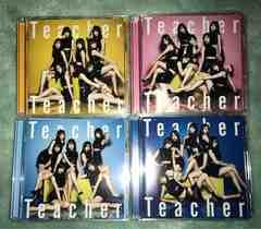 AKB48 Teacher Teacher CD+DVD 4枚セット