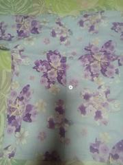 ☆処分品薄紫×大桜柄ダボシャツ110