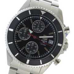 送料無料!! エルジン  クロノ  メンズ 腕時計 FK1418S-B