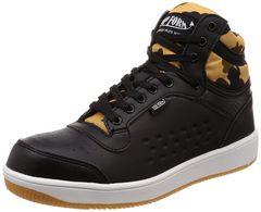 喜多 安全靴・作業靴 ハイカット 迷彩柄 サイズ26.5�p