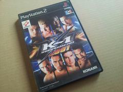 PS2☆k-1ワールドグランプリ2001☆KONAMI。
