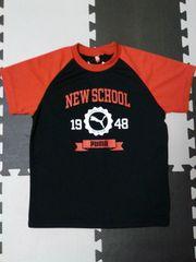 新品プーマPUMA★DRY半袖Tシャツ(140/黒×赤)サッカー