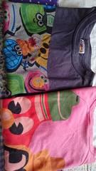 JAM☆七分袖,半袖Tシャツセット☆130�p☆ジャム☆女の子も